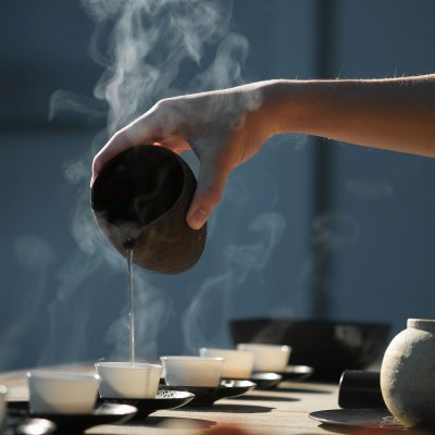 Tee-Kraeuteraufguss
