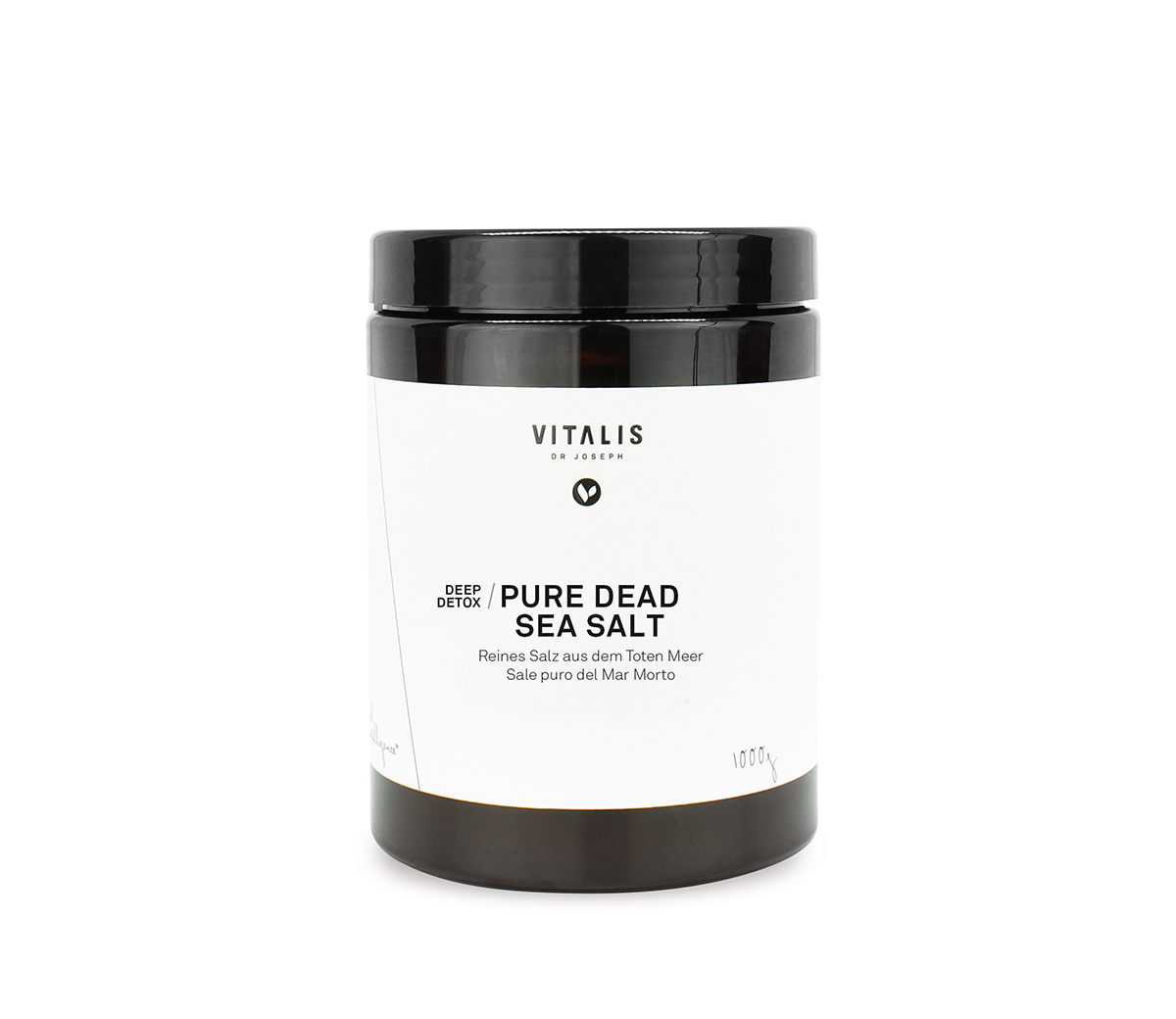 PURE DEAD SEA SALT, 1000g