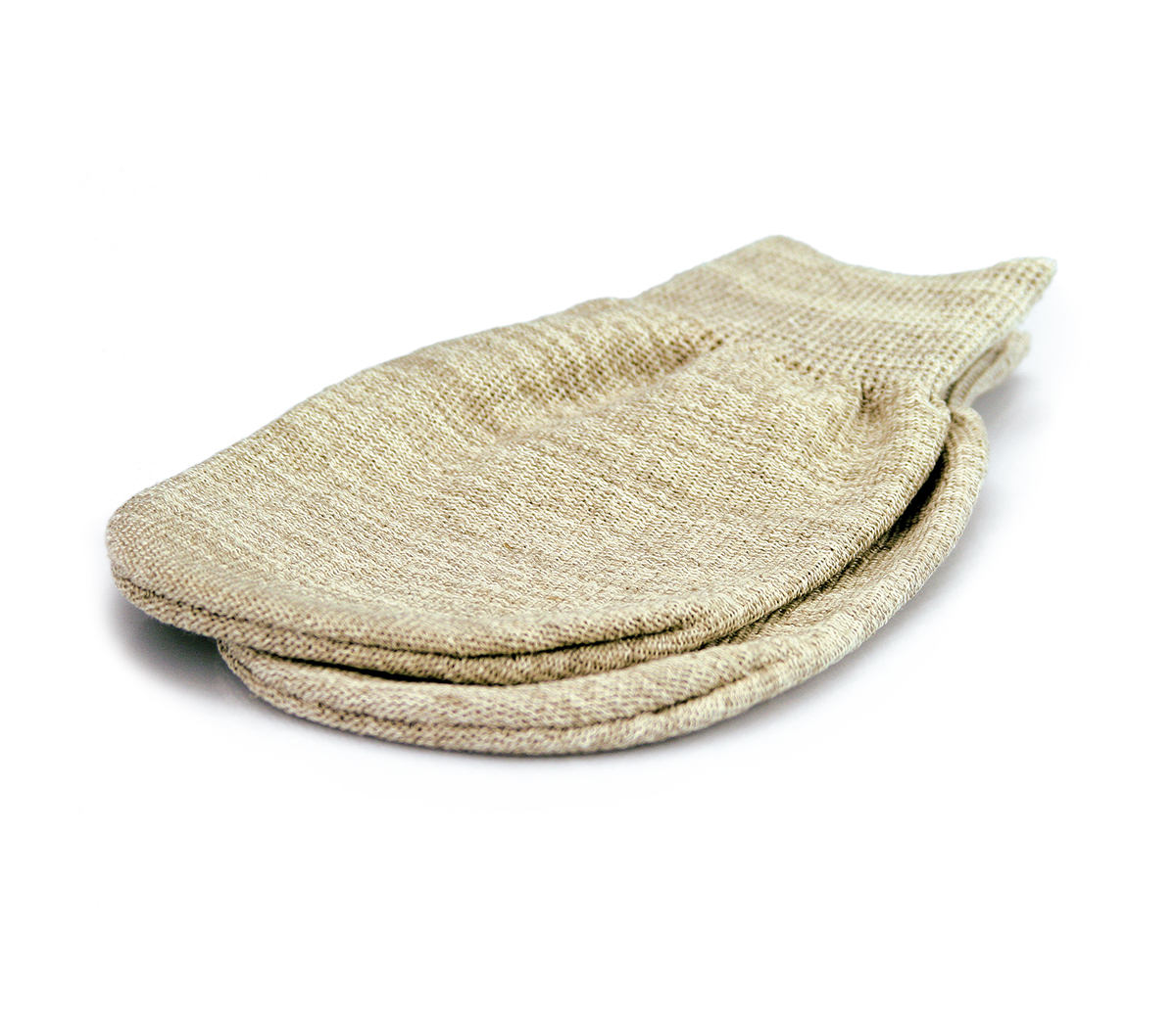 Gloves made of linen for hamam