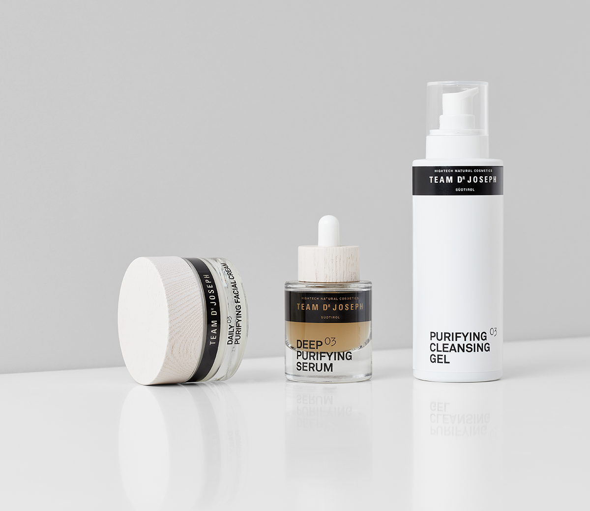 The Impure Skin Set Skincare set for a pure skin appearance