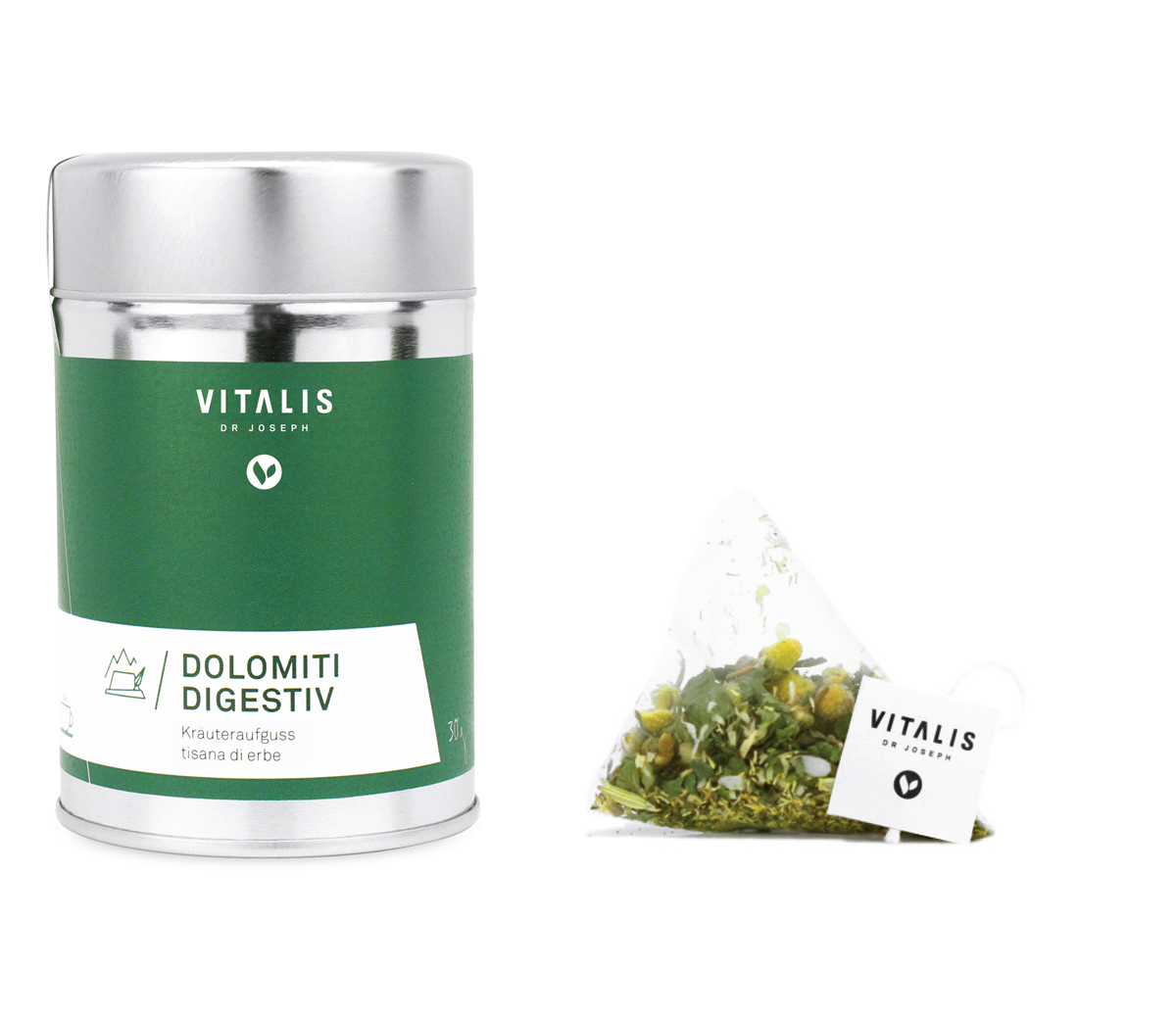 DOLOMITI DIGESTIV herbal tea, 30g