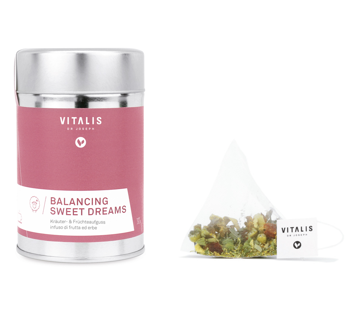 BALANCING SWEET DREAMS herbal & fruit tea, 36g