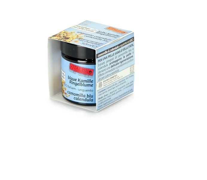 Salbe RINGELBLUME & BLAUE KAMILLE BIO, 50 ml